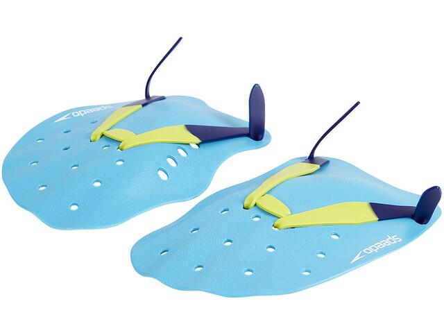 speedo Tech Paddles Unisex, turquoise/lime/ultramarine